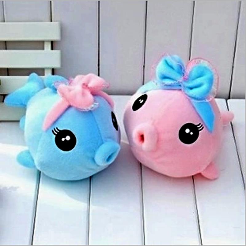 毛绒玩具亲嘴鱼泡泡可爱鱼爱情鱼接吻鱼小金鱼 婚庆情侣娃娃