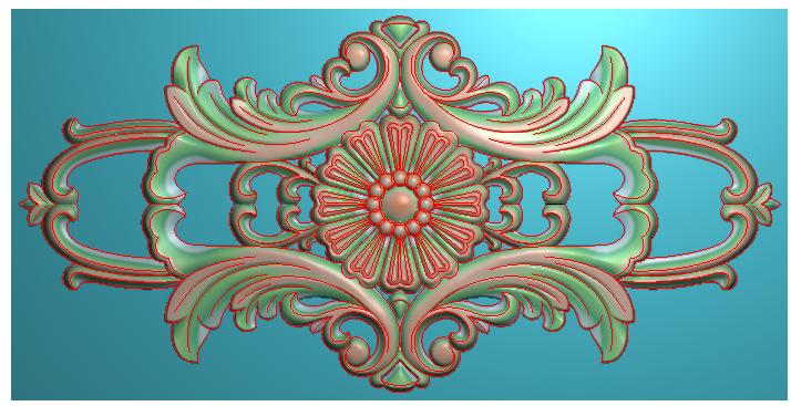 实木门套图欧式洋花 门上洋花 床头西洋花 精雕图浮雕图雕刻图