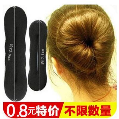 长发变短发盘发的工具花苞丸子头编发器美发 简单发型扎头发发饰