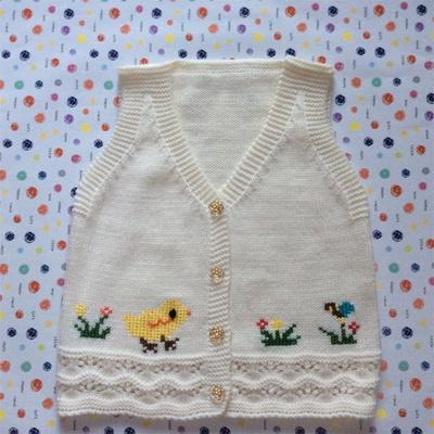 手工编织婴儿羊毛线衣/三利宝宝毛衣线衫/儿童外套/童装