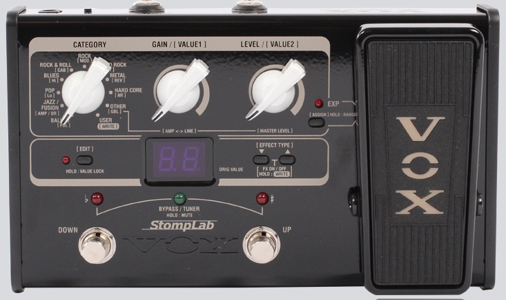 日产vox 1g 2g ig iig电吉他综合效果器 送电源 连接线包邮