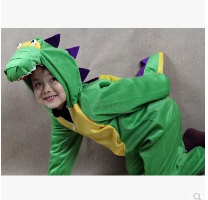 元旦儿童服装鳄鱼演出服装男女童婴幼儿宝宝小孩衣服恐龙动物造型