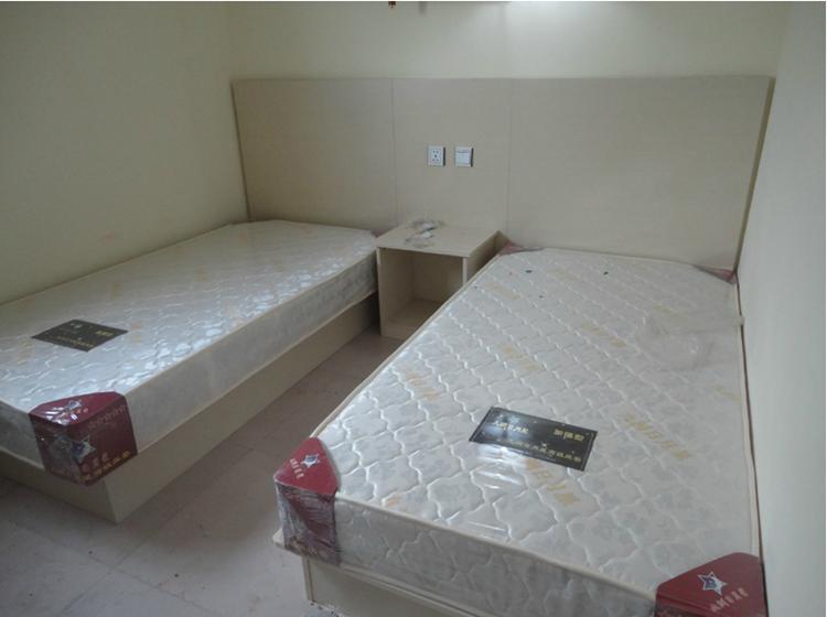 可定制出租屋旅舍床快捷酒店式客房板式床头宾馆标间