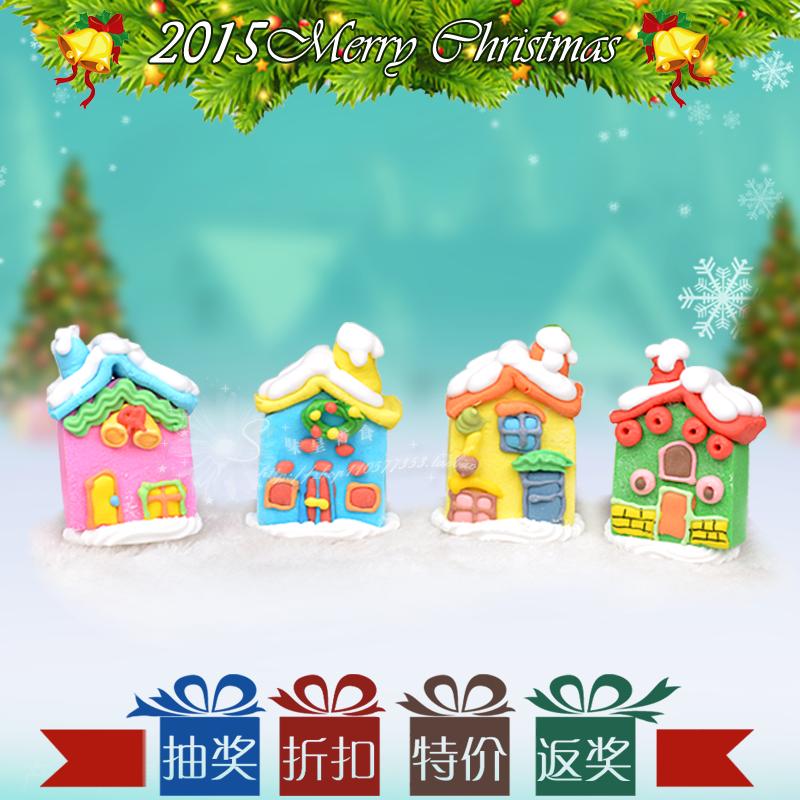 1074圣诞房 蛋糕装饰糖公仔 卡通造型糖人 圣诞蛋糕必备 1个/件
