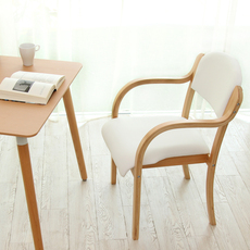 Обеденный стул Chair with wood structure