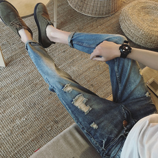 Jeans for men Lan Deng via