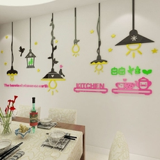 Наклейка на стену Macaroon boutique Wall