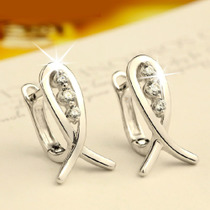Charming Jewelry Korean Style Smile Fish Pattern Woman Stud