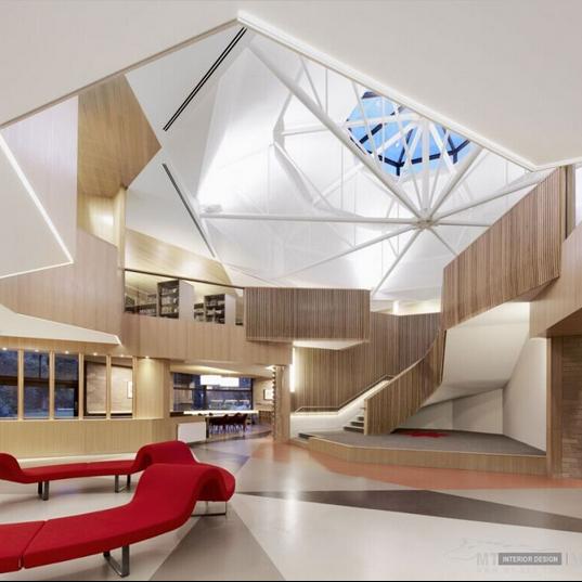图书馆室内设计案例_图书馆室内设计案例分享展示