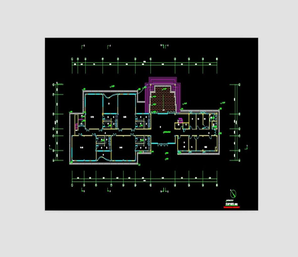 户型图 平面图 950