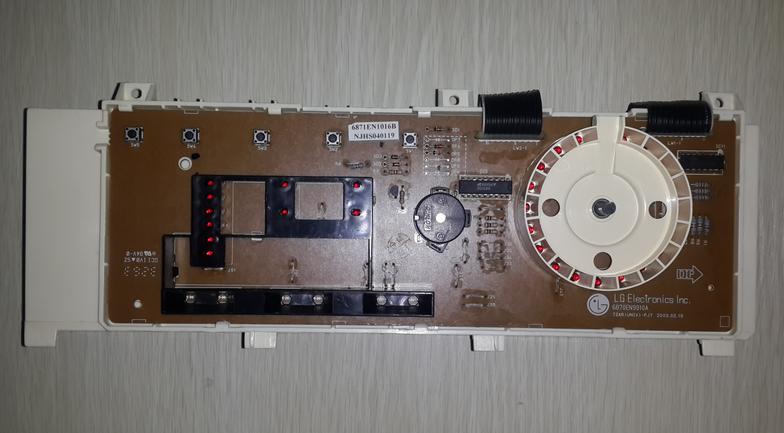 lg滚筒洗衣机电脑板wd-n80010/-n80030
