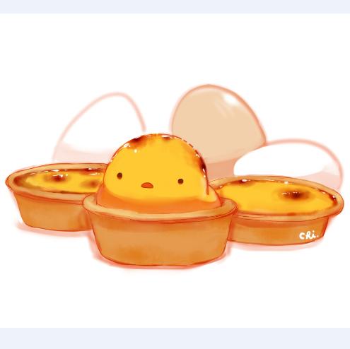 创意简笔水彩手绘图片 小清新萌鸡插画 食物蛋糕点水果素材411张
