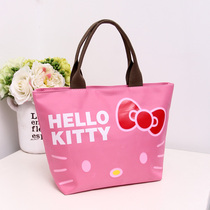 Bags of new small bag bags bento bag lunch box bag hand bags Oxford Canvas bag girl bag