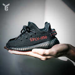 Adidas Yeezy 350 Boost V2 Toddler Infant Core Black Red BB6372