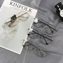 a29fb35393 Korean version of the influx of big box retro glasses frame square glasses  frame myopia glasses