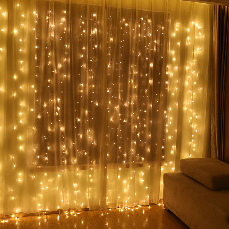 Curtain Wall Lighting : Usd lantern flashing lights string starry